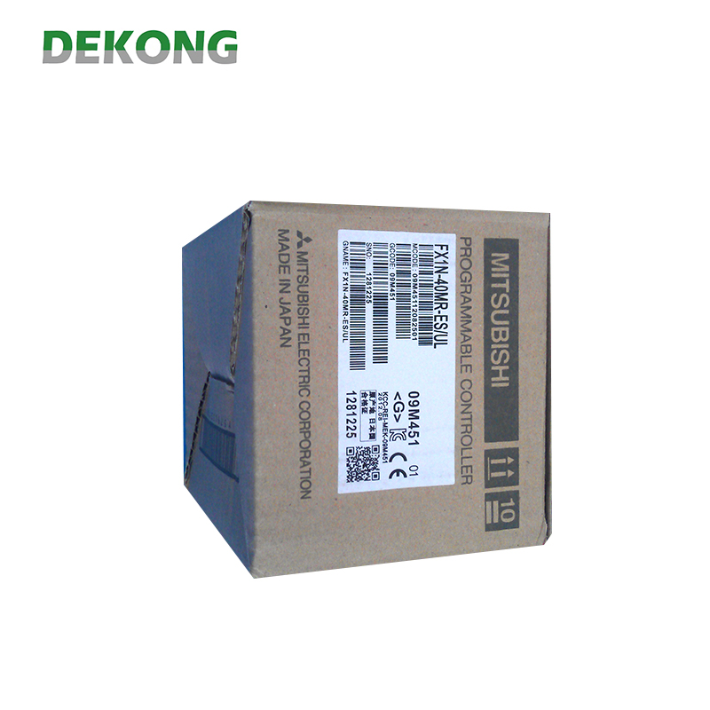 Trustworthy china supplier mitsubishi fx1s /fx1n-40mr-es/ul plc