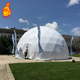 Big transparent geodesic dome camping tent