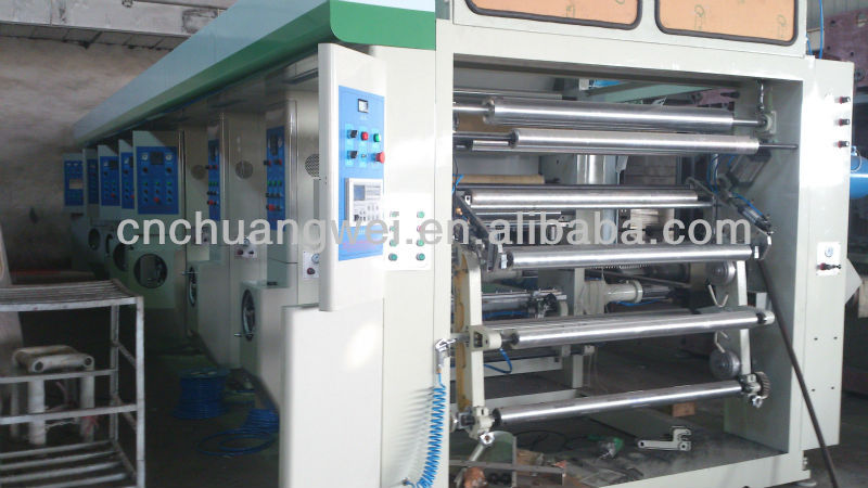 computer controlled gravure printing machine/shopping bag printing machine
