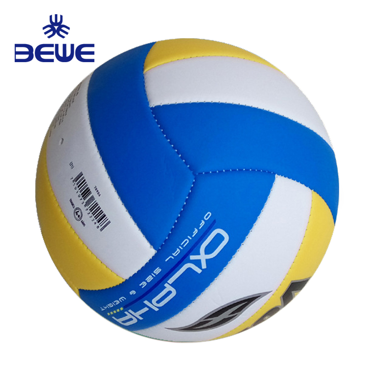 2018 new Factory 4 Pillar training TPU soft sports ball promotion custom beach volleyball gifts
