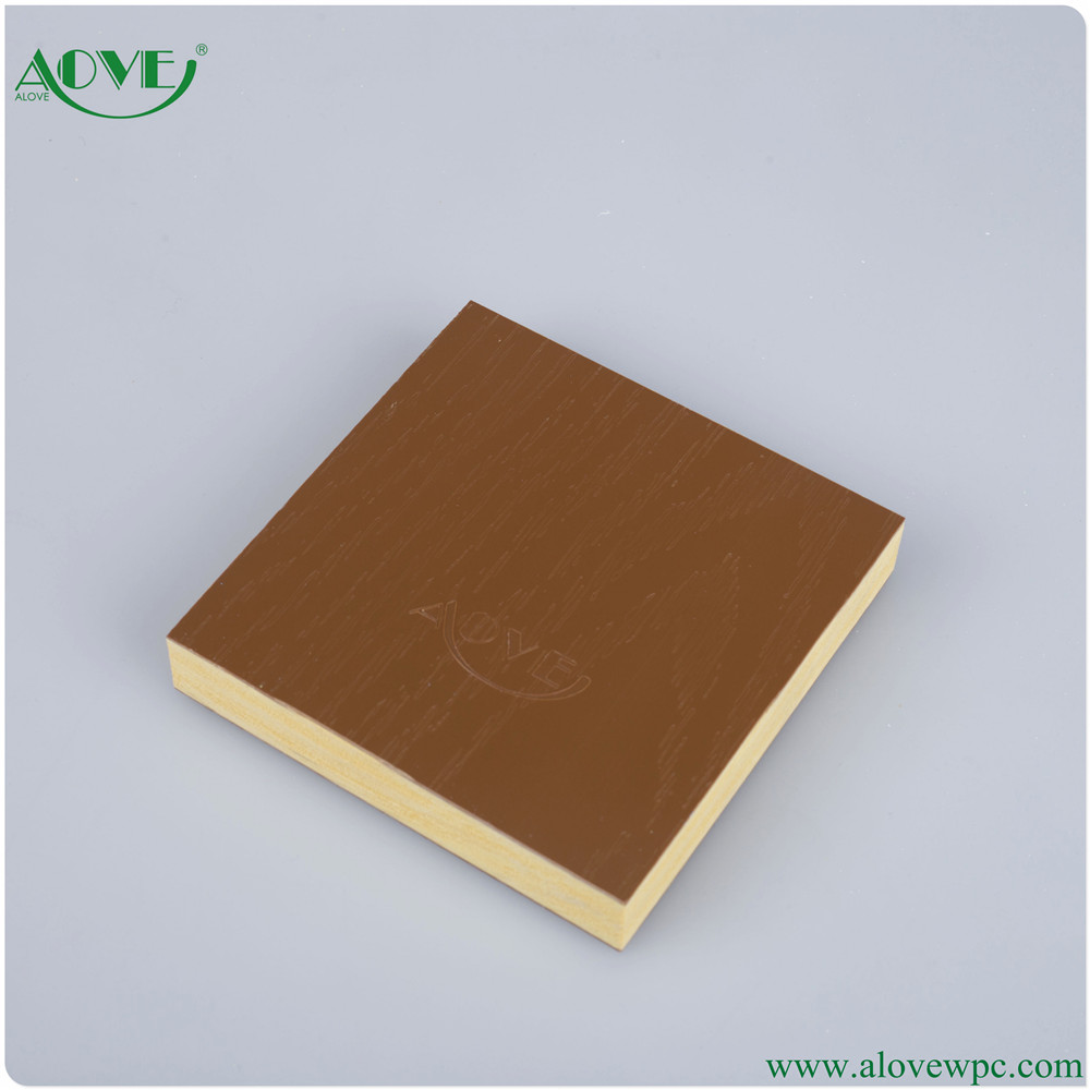 2016 Hot sale free sample wood plastic composite material boards WPC board