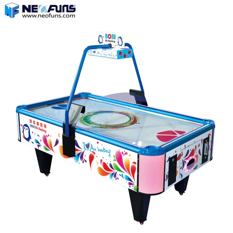 Indoor Amusement Game Machine Klassieke Sport Air Hockey Tafel game machine Arcade Muntautomaat 2 Persoon