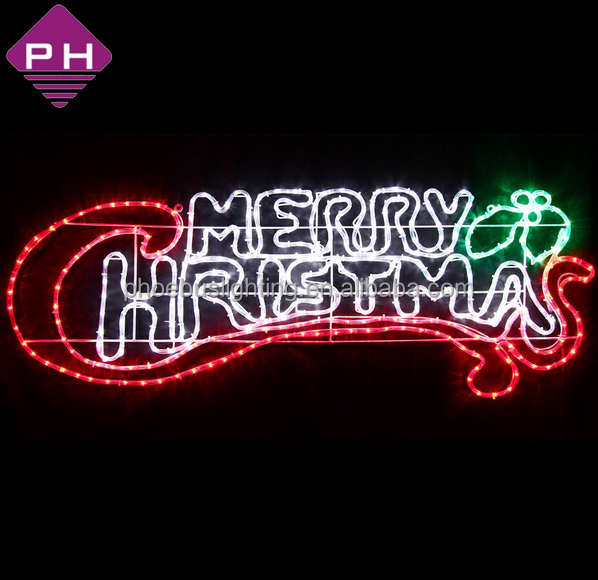 Lighted Merry Christmas Signs Outdoor
