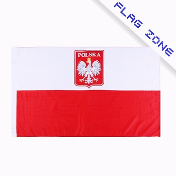 Oem Cheap Custom Size Poland Banner National Hand Flag For All Countries -  Buy Poland Flag,Cheap Custom Made Flags,Large Custom Flags Product on