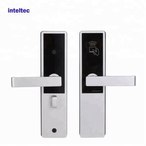 Best quality keyless card swipe smart hotel lock hotel access control in-room safe lock