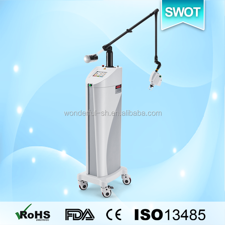 Best technology fractional co2 dark spot removing laser machine with fine scan