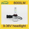 car led light auto led headlight/head lighting 40w 8000LM auto parts 9005/HB3 auto accessories