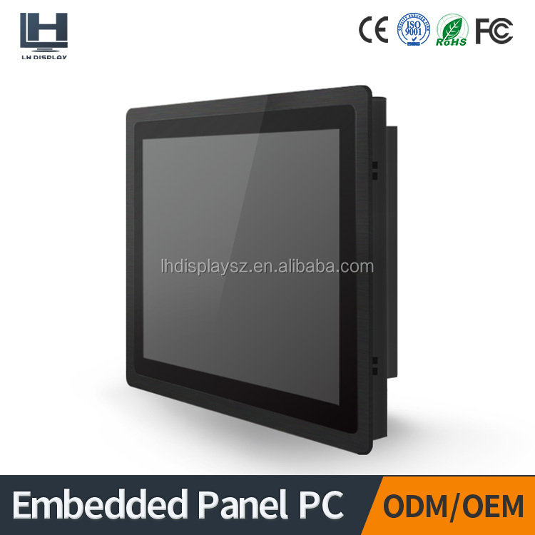 19 inch widescreen open frame touch screen panel pc/all in one pc