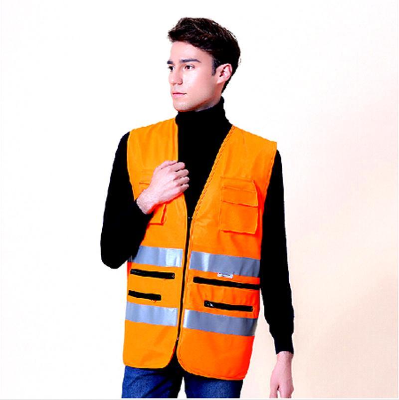 Мода ночного путешествия XXL светоотражающий жилет безопасности жилет спецодежда предоставляет прогулки и т . д . трафика санитарии безопасности