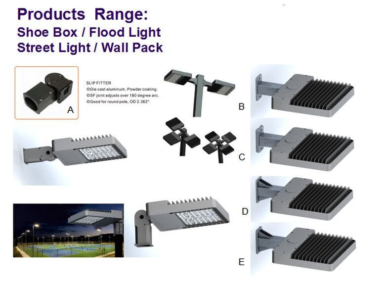150w 200w 240w 300w 400w 500w 600w ul led tennis court lights with 130lm/W