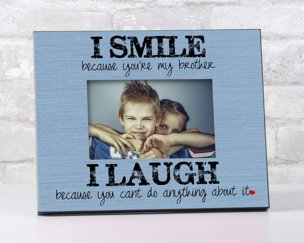 Get Quotations Brother Frame Birthday Gift And Or Sister Picture Sibling