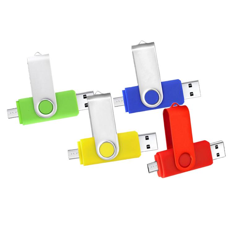 2 In 1 Otg Usb Flash Drive 8 gb Plastic Case Swivel Twister Otg Dual Usb 3.0 8gb Usb Otg Flash Drive for Iphone Android фото