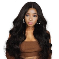 Wholesale price High Quality Machine Made Hair Body Wave Cheap Wholesale Synthetic Wig