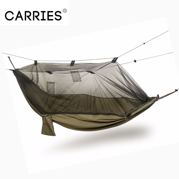 Ultralight Portable Hammock Mosquito Net For Outdoor Nylon Material Anti-mosquito Nets With Super Size To Enjoy High Reputation At Home And Abroad Camp Sleeping Gear