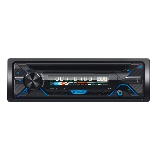 günstigen preis 1 Din auto audio video cd player mit fm, usb, sd, aux in