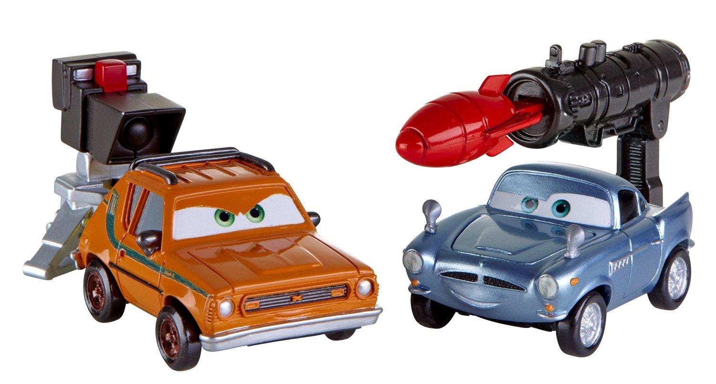 Cars 2 Action Agents Battle Pack Finn McMissile & Grem