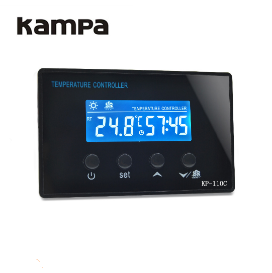 LCD Digital Thermostat With Timer Use For Sauna Room Foot SPA