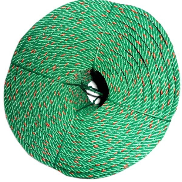 4 strands twisted 24mm PP plastic rope for shipping and fishery
