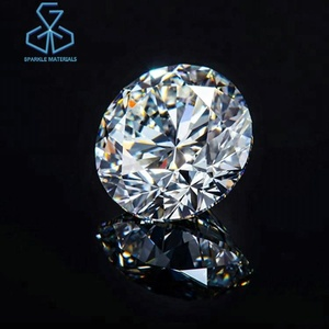 Big Lab Grown Cvd Diamond Round Brilliant Cut Gia 5.20k Hpht White Polished
