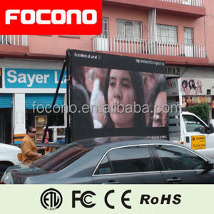 Rental Truck Convenient Movable LED Display Billboards For Event