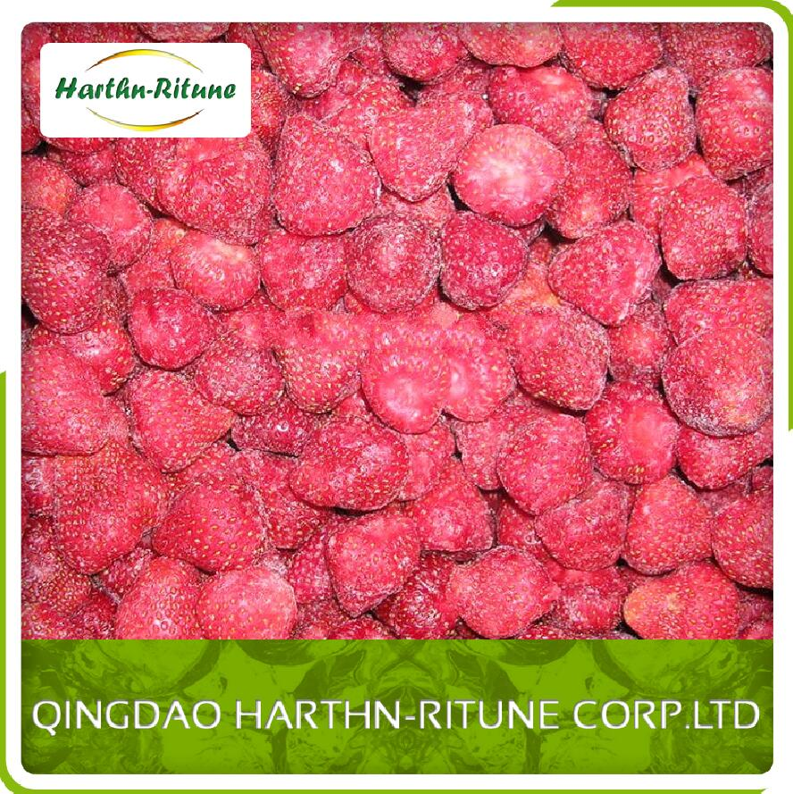 Bulk Frozen wild IQF strawberry 15-25mm