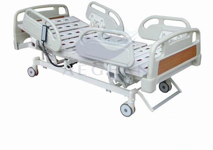 AG-BM002 5 function medical adjustable electric hospital bed with remote control