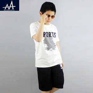Summer Children's 2PCS Clothing Sets Boys Casual Homewear Suits t shirt +Shorts Sets Outfit Sets Boy