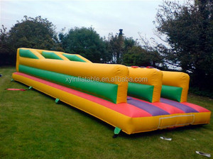 Factory outlet inflatable bouncers running super bungeeinflatable bungee run for sale