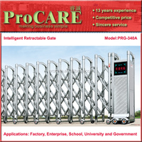 ProCARE PRG-340A steel automatic industrial intelligent retractable gate