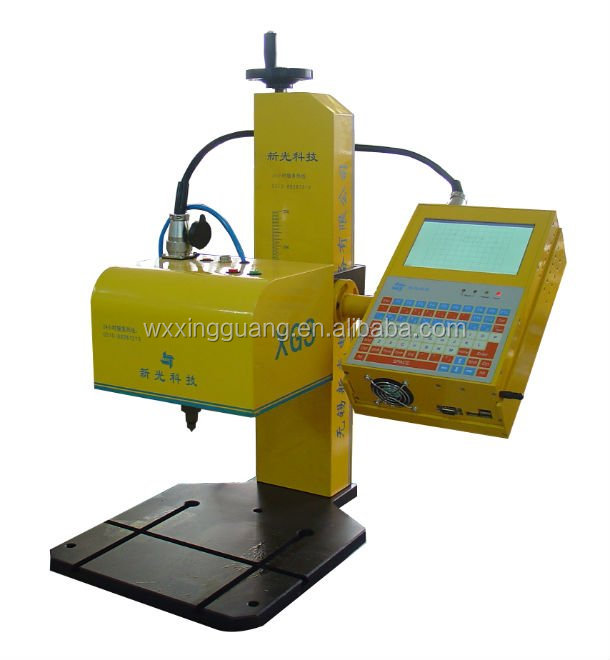 XG3-D meta engraving machine for metal pipe, gear, pump body, valve, fastener