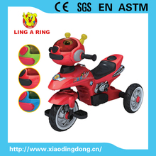 Hot sale small simple children tricycle with high quality musical and flashing head