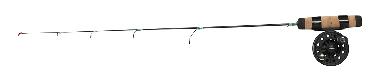 Frabill Straight Line 101 Ultra-Light Ice Fishing Combo, 24-Inch