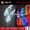 rgb led pixel light string factory price(SCT-DD-1)