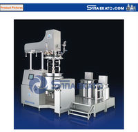 high quality cosmetic hydraulic paint mixer equipment with oil and water pot