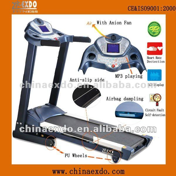 Foldable Training Tools gym equipment commercial treadmill canada ac power treadmill EX-709A