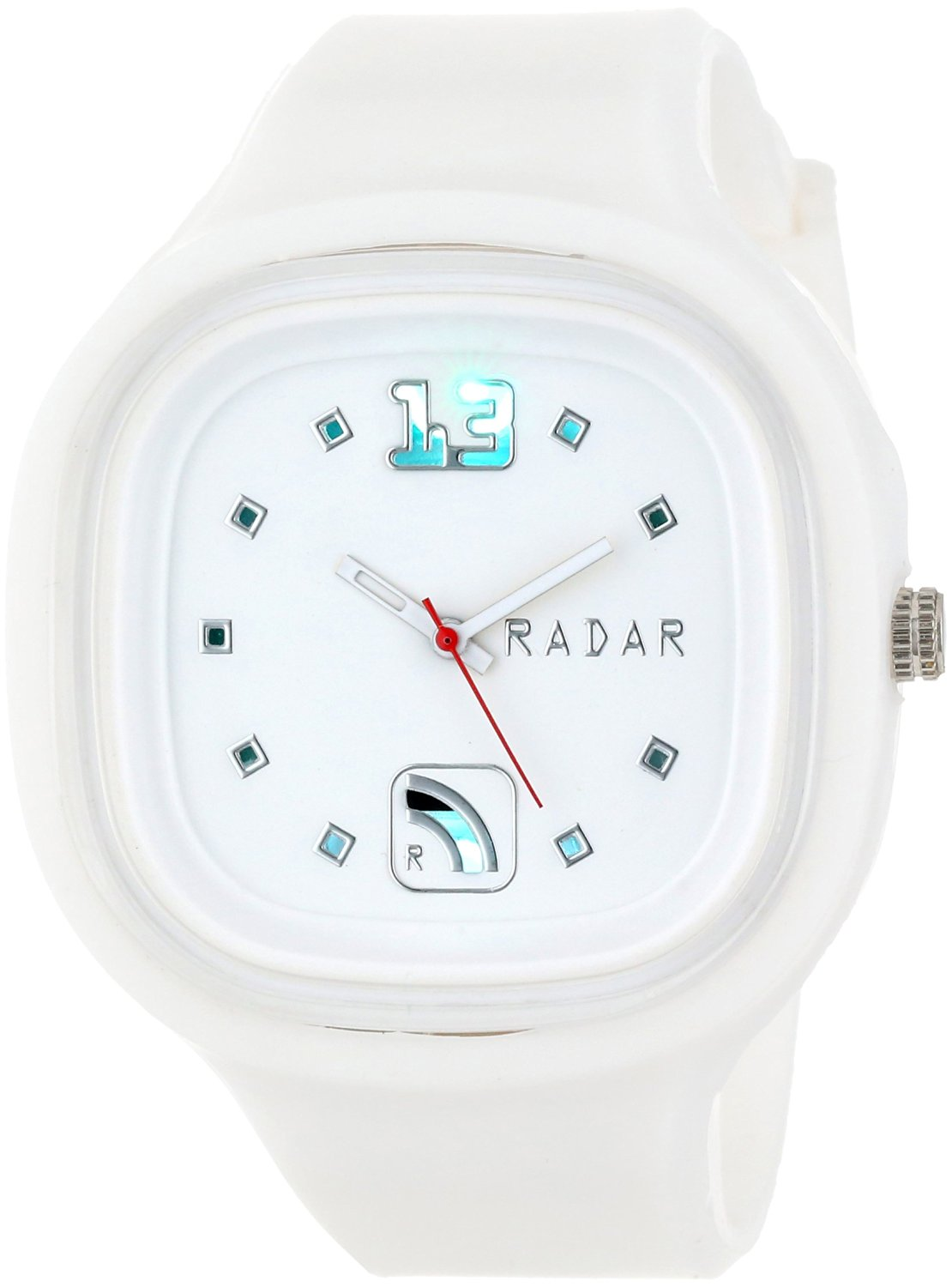 RADAR Watches Unisex SAWHT-X002 The Special Agent Interchangeable Silicone Analog Watch