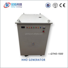 Equipment to separate hydrogen and oxygen flame gas generator for fuel saving