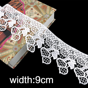 shidao Bulk quantity width trim flower embroidery elastic net lace ribbon for gift wrapping