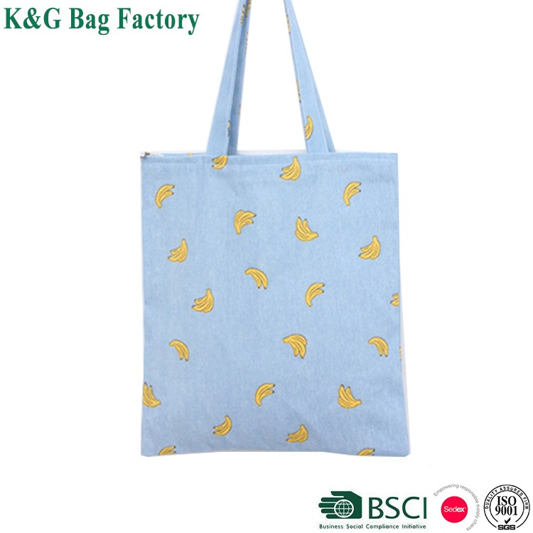 Custom Print Wholesale Promotional Bulk 100% Cotton Tote Bag ...