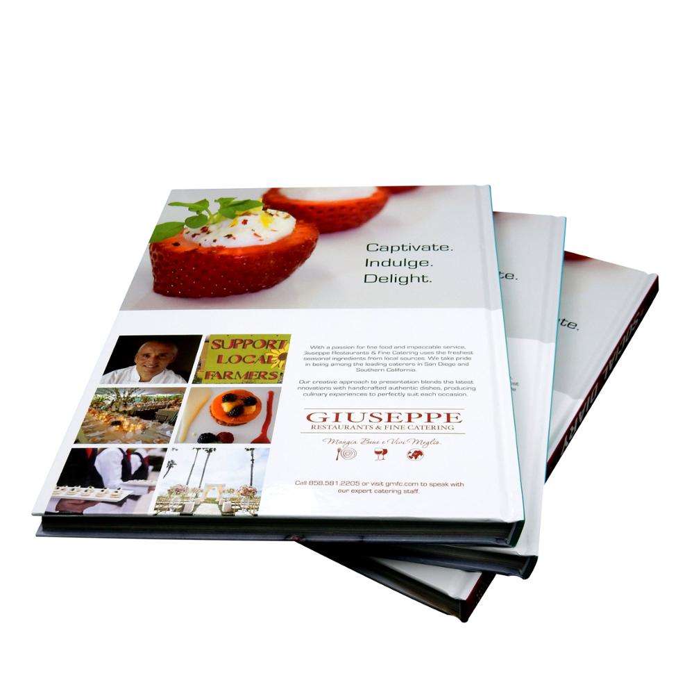 Eco-friendly good quality colorful offset printing coffee table book