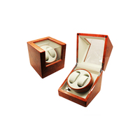 Lacquer Wood Dual China Automatic Watch Winder Box