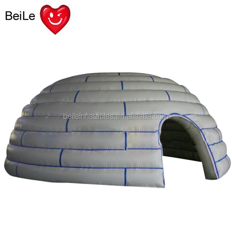 Kids outdoor and indoor Inflatable dome play forts