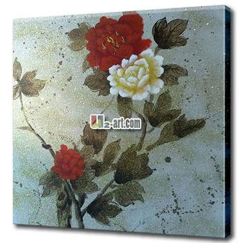 Kanvas Lukisan Bunga Elegan Menggambar Gambar Buy Bunga Gambar