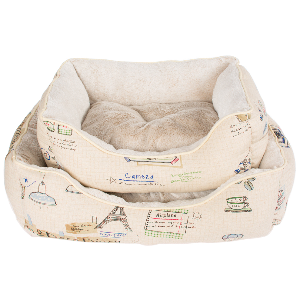 wholesale canvas cozy luxury warm cat sofa