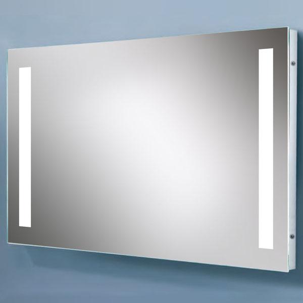 Espejo de la pared del hotel iluminaci n del ba o espejo for Espejos de bano con led
