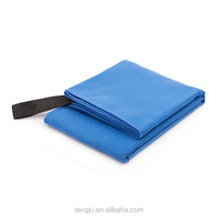 Solid color Sunland Microfiber Towel Ultra Compact Absorbent and Fast Drying Travel Sports Towels