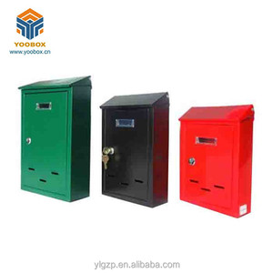 Yoobox Solid Durability Italy Green Small Size Vertical Mailbox