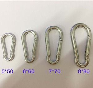 Model ZDX0021Stainless Steel 304 or 316 Carabiner Snap Hook DIN5299 Form C
