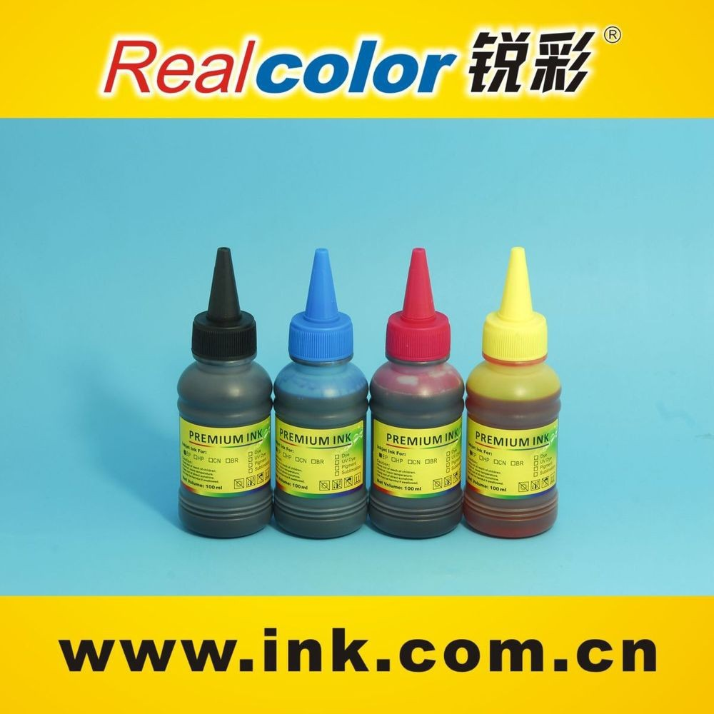 High quality water Based dye ink for epson/hp/brother/ canon inkjet printer