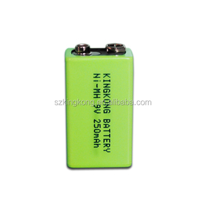 250MAH NI-MH full power high capacity 6F22 6lr61 9v battery